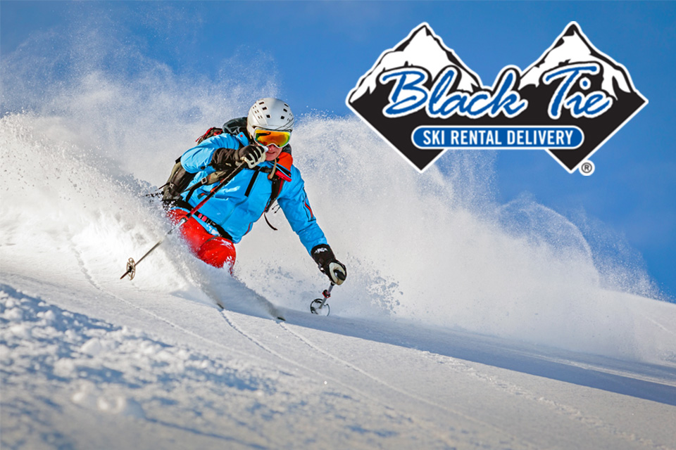Black Tie Skis: 20% Off All Ski & Snowboard Rentals